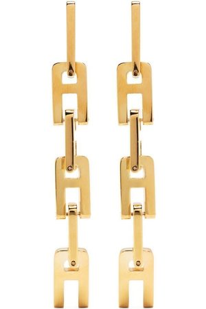 AMBUSH A chain-link earrings