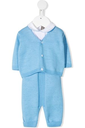 LITTLE BEAR Baby Rompers - Ribbed-knit romper
