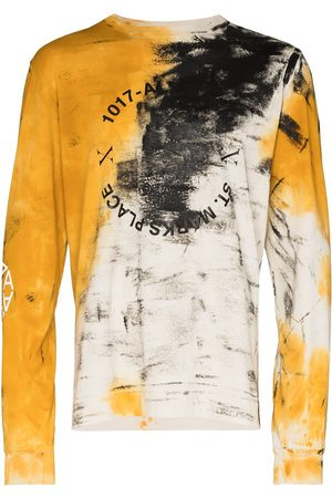 1017 ALYX 9SM Men Long Sleeve - Address abstract-print long-sleeve T-shirt