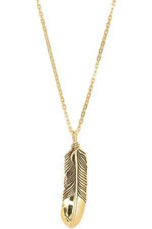 AMBUSH Feather charm necklace
