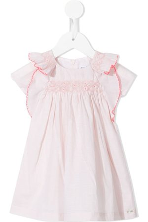 Tartine Et Chocolat Baby Casual Dresses - Embroidered ruffle-detail dress