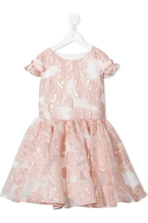 David Charles Floral jacquard dress
