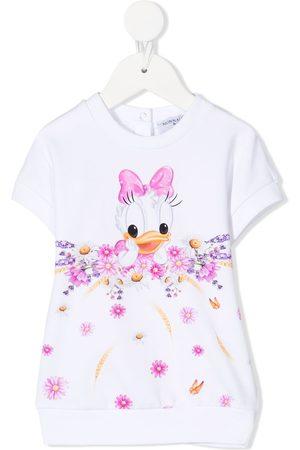 MONNALISA Daisy Duck sweatshirt dress
