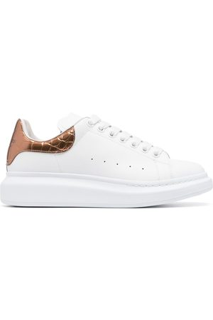 Alexander McQueen Oversize leather sneakers