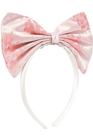 HUCKLEBONES LONDON Oversized bow headband