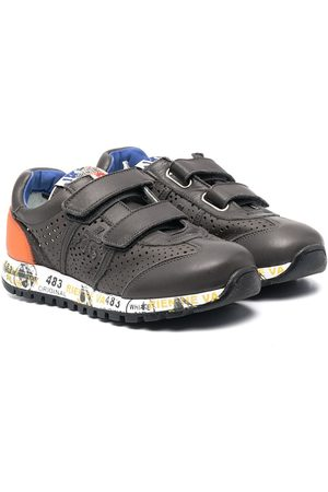 Premiata Lucy touch-strap sneakers