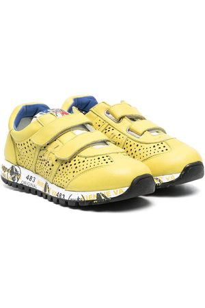 Premiata Lucy low-top touch-strap sneakers