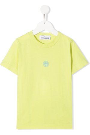 Stone Island Girls Short Sleeve - Logo-print cotton T-shirt