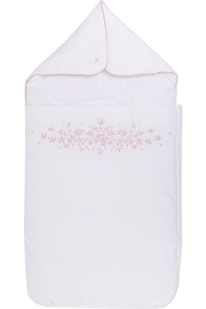 Tartine Et Chocolat Baby Baby Changing Bags - Floral embroidered cotton nest