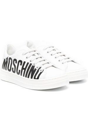 Moschino Logo-print low-top sneakers