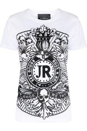 John Richmond Graphic-print cotton T-shirt