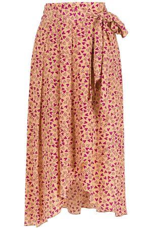 NK Silk midi skirt