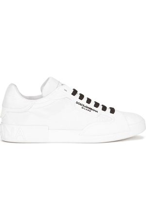 Dolce & Gabbana Men Sneakers - Logo-print lace-up sneakers