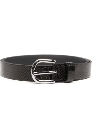 Isabel Marant Zap snakeskin-effect belt