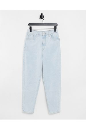 Levi's Levi's high waist tapered jeans in bleach wash