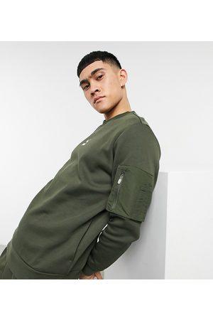 PUMA Avenir MA1 sweatshirt in khaki exclusive to ASOS