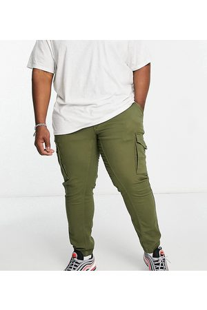 Jack & Jones Men Cargo Pants - Intelligence cargo trouser in khaki