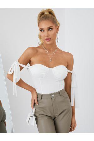 YOINS Tie-up Shoulder Straps Design Cami