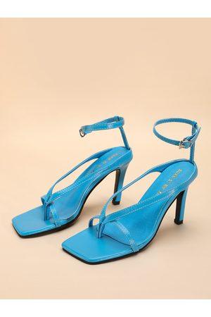YOINS Square Toe Flip Flop Sandals