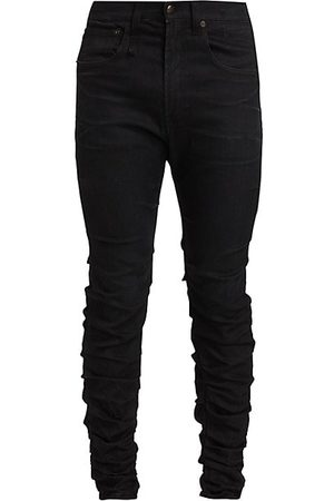 R13 Men Skinny - Skywalker Gathered Skinny Jeans