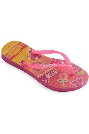 Havaianas Girls Flip Flops - Kid's Slim Princess Flip Flops