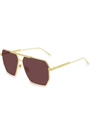 Bottega Veneta 60MM Navigator Sunglasses