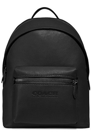 Coach Charter Refined Pebbled Leather Backpack