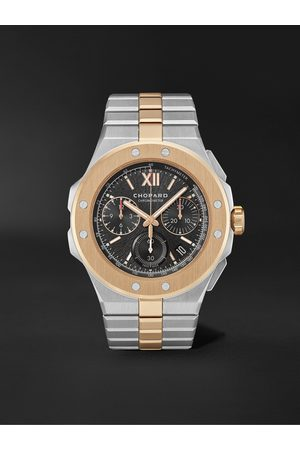 Chopard Men Watches - Alpine Eagle XL Chrono Automatic 44mm Lucent Steel and 18-Karat Rose Gold Watch, Ref. No. 298609-6001
