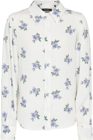 Isabel Marant Women Long Sleeve - Bedrissa floral shirt