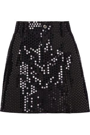 JUNYA WATANABE Women Shorts - Sequined wool-blend miniskirt