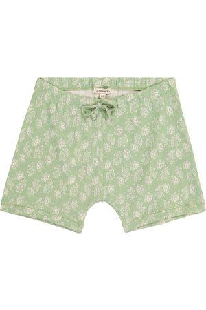 Caramel Piranha floral cotton shorts