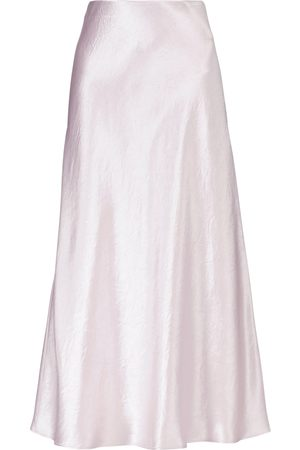Max Mara Leisure Alessio satin midi skirt