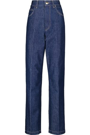 Goldsign Women High Waisted - The Crossway high-rise straight jeans