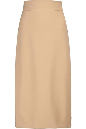 Max Mara Women Pencil Skirts - Gervaso stretch-jersey pencil skirt