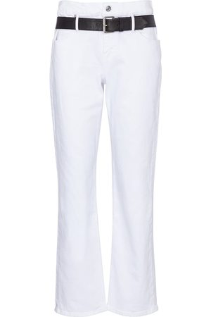 RTA Dexter high-rise cropped jeans