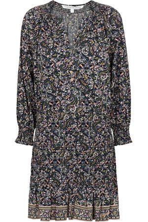 VERONICA BEARD Women Shorts - Karlina paisley cotton minidress