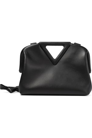 Bottega Veneta Women Clutches - The Triangle Medium leather shoulder bag