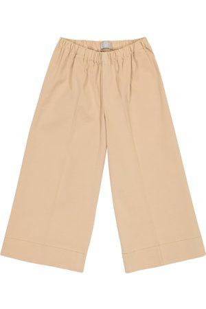 Il gufo Stretch-cotton pants
