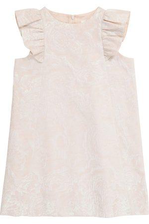 BONPOINT Poupée floral-jacquard dress