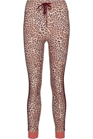 The Upside Leopard-print high-rise leggings
