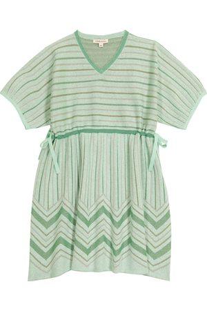 Caramel Girls Dresses - Jellyfish striped cotton-blend dress