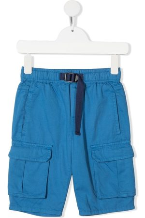 Stella McCartney Boys Shorts - Buckle-fastening multiple-pocket shorts