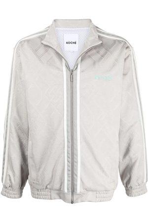 KOCHÉ Men Bomber Jackets - Zipped bomber jacket