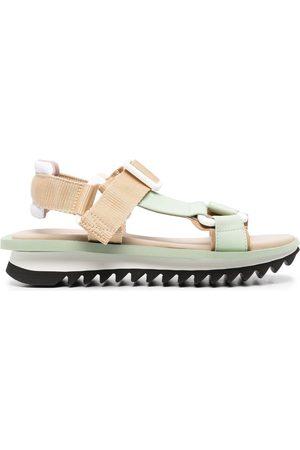 GREY MER Adjustable-strap sandals