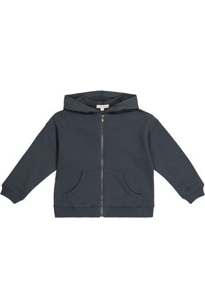 Caramel Driftfish cotton zip-up hoodie