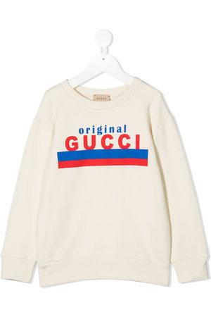 Gucci Logo original print sweatshirt