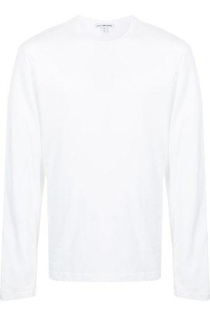 James Perse Men Long Sleeve - Crew neck jersey top
