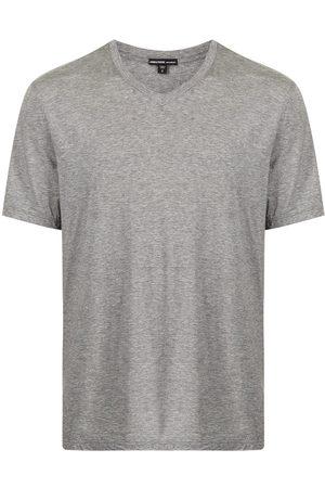 James Perse Men Short Sleeve - V-neck T-shirt