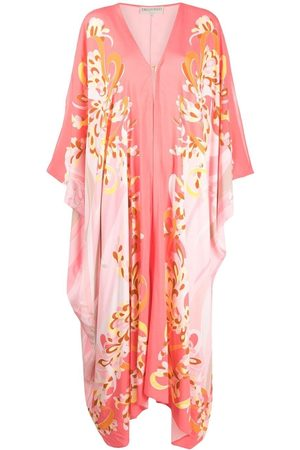 Emilio Pucci Women Beach Dresses - Lilly-print cover-up