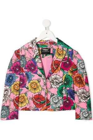 John Richmond Junior Girls Blazers - Floral-print blazer
